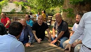 CHP GRUP BAŞKANVEKİLİ ÖZKOÇ, SEL BÖLGESİNDE