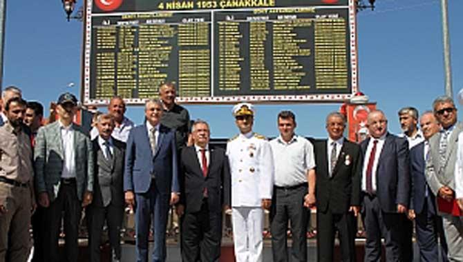 Duımlupınar Denizaltısı Şehitleri'nin aziz hatıraları yaşayacak