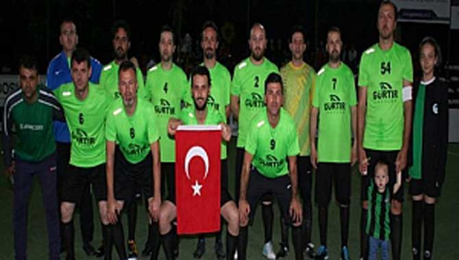 Gazi Metal 31.nci Sakarya Olgunlar Futbol Turnuvası 23.ncü Akşam Maçları