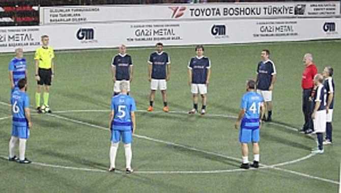 Gazi Metal 31.nci Sakarya Olgunlar Futbol Turnuvası 25.nci Akşam Maçları