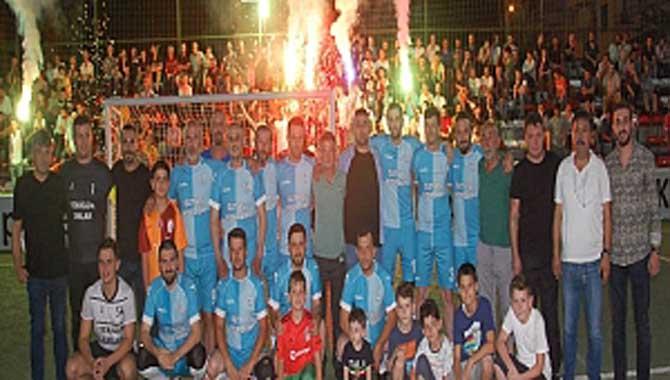 Gazi Metal 31.nci Sakarya Olgunlar Futbol Turnuvası 30.ncu Akşam Maçları
