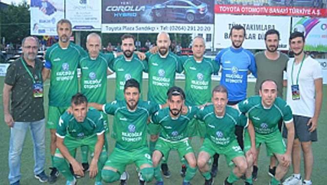 Gazi Metal 31.nci Sakarya Olgunlar Futbol Turnuvası 35.nci Akşam Maçları