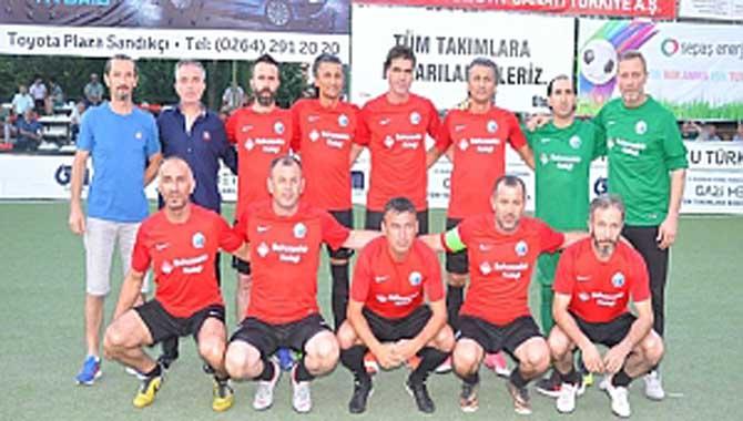 Gazi Metal 31. nci Sakarya Olgunlar Futbol Turnuvası 43. ncü Akşam Maçları