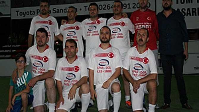 Gazi Metal 31nci Sakarya Olgunlar Futbol Turnuvası22nci Akşam Maçları