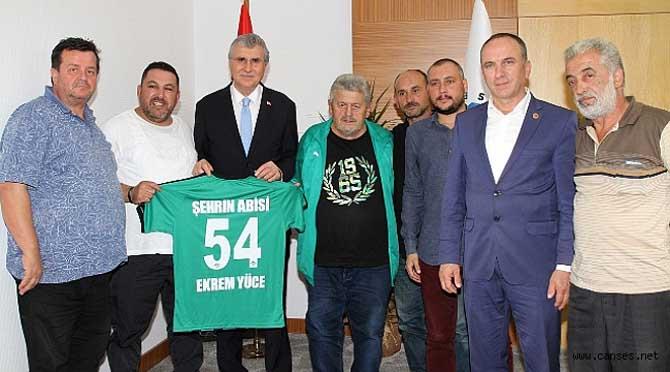 """""""Hep birlikte Sakaryaspor' un etrafında kenetleneceğiz"""""""