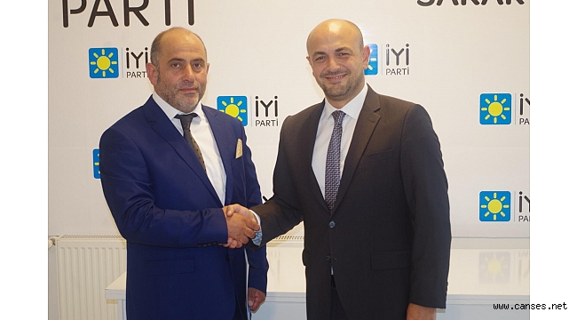 İyi Parti Serdivan'da Görev Değişimi