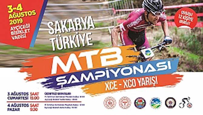 Sakarya MTB Şampiyonası Ayçiçeği Bisiklet Vadisi' nde