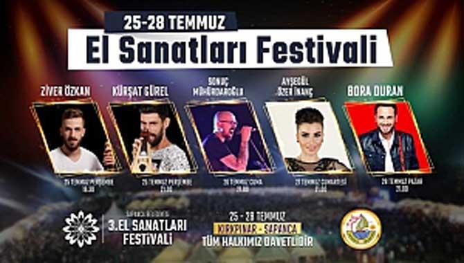 Sapanca El Sanatları Festivali başlıyor