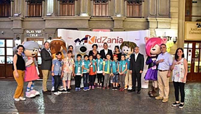 Sepaş Enerji ile 200 çocuk, KidZania İstanbul'da 'Enerji Tasarruf Uzmanı' oldu