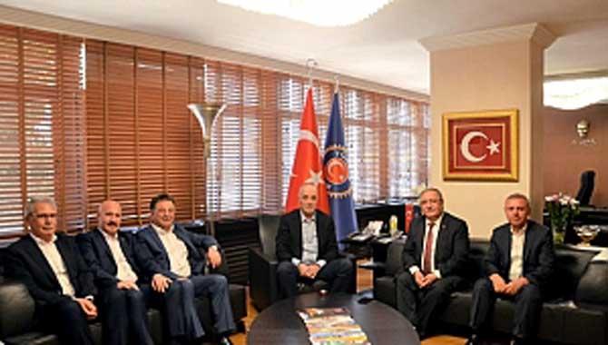 Vali Nayir Ankara'da Ziyaretlerde Bulundu