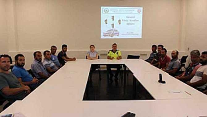 AGDAŞ Personellerine Güvenli Sürüş Kuralları Eğitimi Verildi