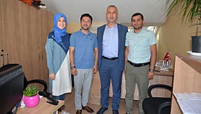 Başkan Babaoğlu belediye personeli ile bayramlaştı
