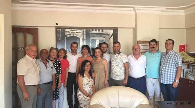 CHP Adapazarı örgütü İlçe Binasında bayramlaştı