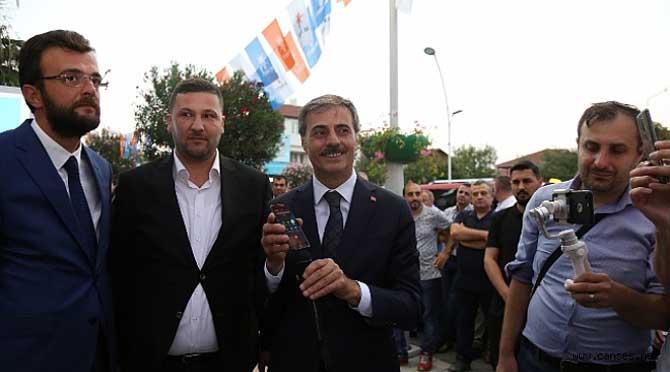 Cumhurbaşkanı Erdoğan Serdivan' a Telefonla Bağlandı