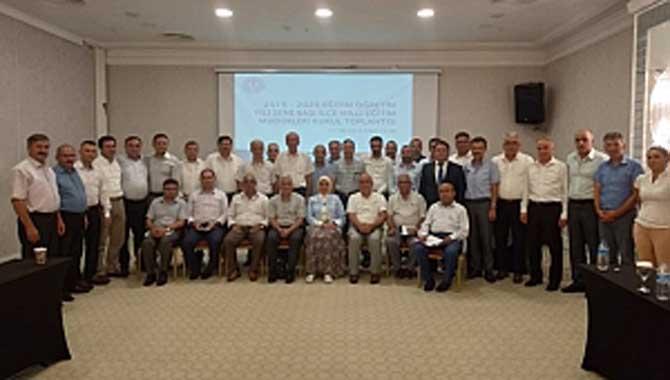İl MEM' den Sene Başı İlçe Müdürler Toplantısı