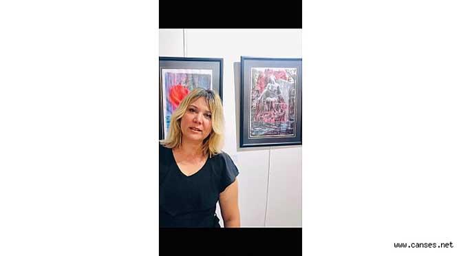 Sakaryalı Ressam Aysun Meriç'ten İstanbul Nişantaşı'nda Sergi
