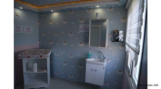 Sapanca'da Bebek Bakım Odası Hizmete Açıldı