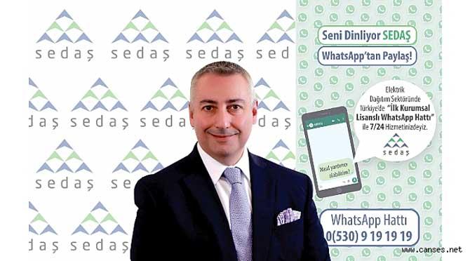 SEDAŞ WhatsApp Hattı ile Size Daha Yakın