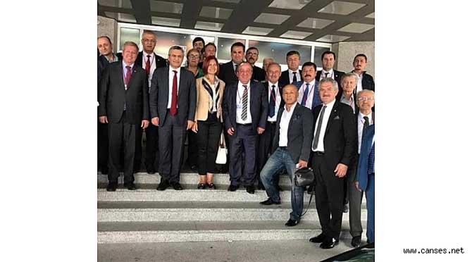 Cumhuriyet Halk Partisi bölge toplantılarına Bolu da devam etti