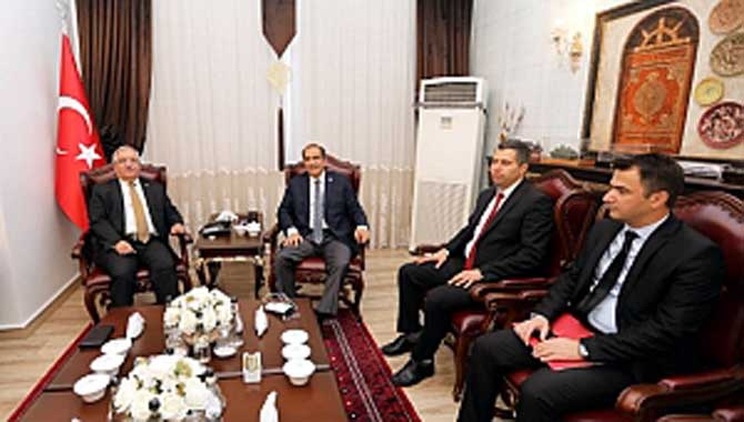 İçişleri Bakanlığı Başmüfettişi Salim Demir'den Vali Nayir'e Ziyaret