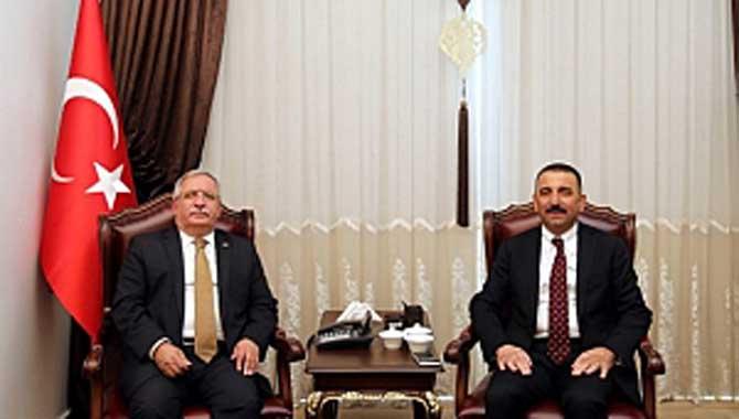 İİçişleri Bakanlığı Bilgi İşlem Daire Başkanı Hacıbektaşoğlu'ndan Vali Nayir'e Ziyaret