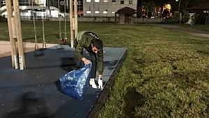 İYİ Gençlik Kent Park'ta temizlik yaptı