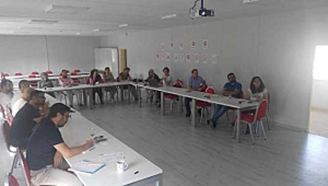 Ölçme Değerlendirme Merkezi Koordinatörlerine Mesleki Eğitim