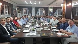 Şaban Yener'in başkanlığındaki TÜMSİAD'ta görev dağılımı yapıldı