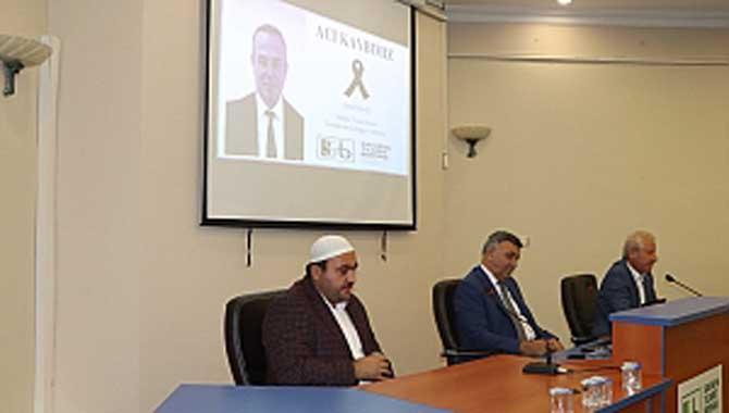 Sakarya Ticaret Borsası, Meclis Salonuna Ahmet Erkan'ın adını verdi…