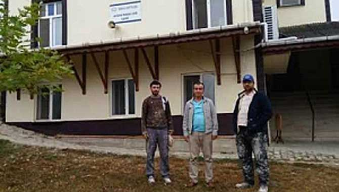 Taraklı'da Avdan Mahalle Camiine Hayırsever Güzelliği