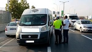Ulaşımdan servis araçlarına sıkı kontrol