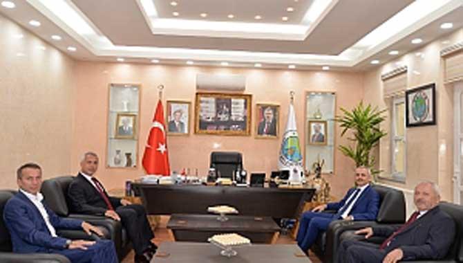 Vali Yardımcısı Çiçekli'den Babaoğlu'na ziyaret