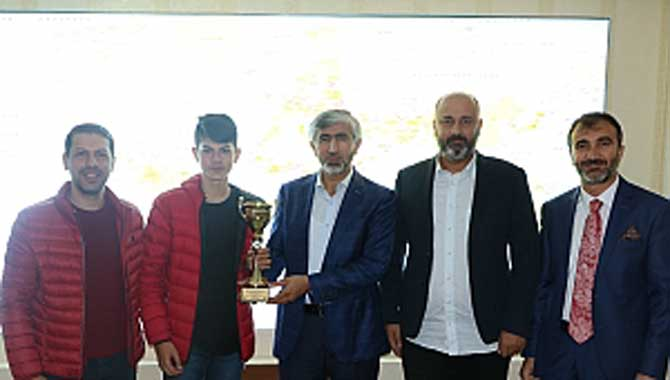 Arif Özsoy, Bilardo Şampiyonunu Ağırladı