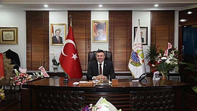 Başkan Özen'den, 29 Ekim Cumhuriyet Bayramı Mesajı