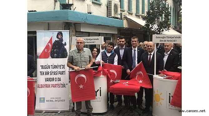 BUGÜN TÜRKİYE'NİN TEK PARTİSİ ALBAYRAK PARTİSİ'DİR