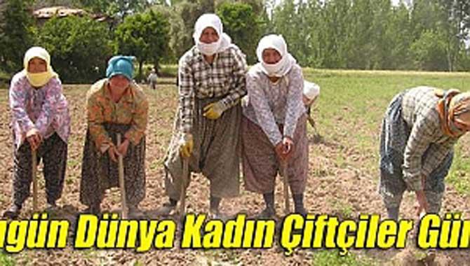 'Dünya Kadın Çiftçiler Günü'