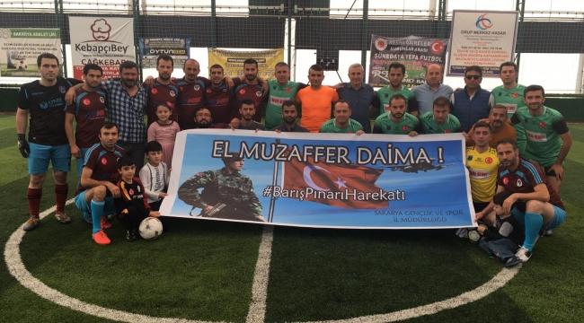 GSB GÜVENLİK'DEN BARIŞ PINARI HAREKATINA PANKARTLI DESTEK..