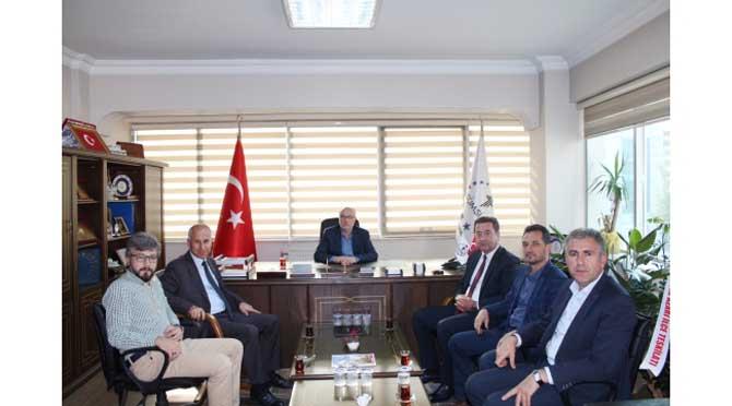 İŞKUR ve SGK İl Müdürlerinden TÜMSİAD'a Ziyaret