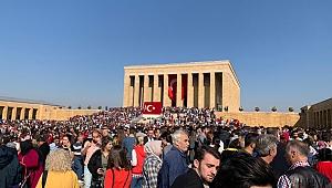 İYİ Gençlik Cumhuriyet Bayramında Ankara'daydı