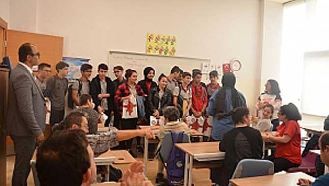 Lise öğrencilerine SGM'de uyum semineri