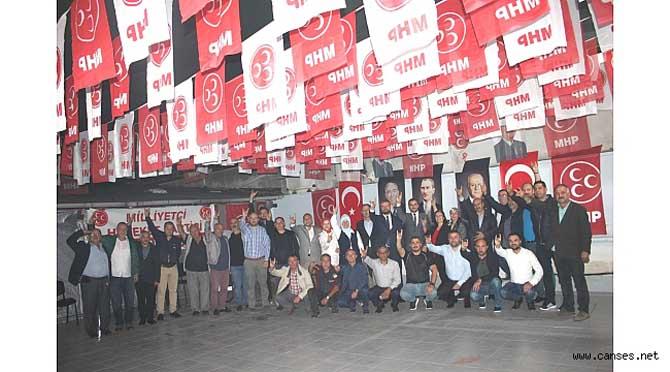MHP Sakarya'dan Mehmetçiklere bozkurt selamı