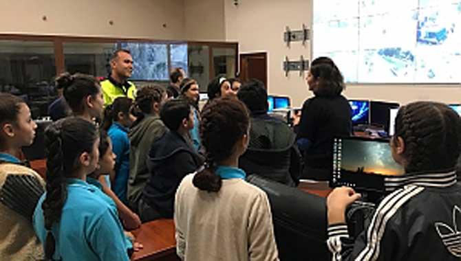 Öğrenciler Sakarya Emniyet Müdürlüğünü Ziyaret etti.