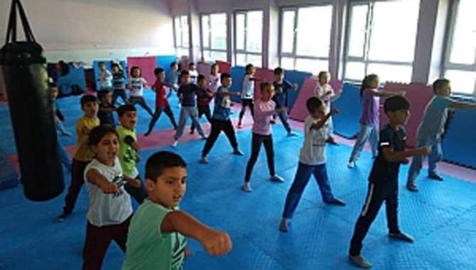 Taraklı'da Taek-wondo kursu Açıldı