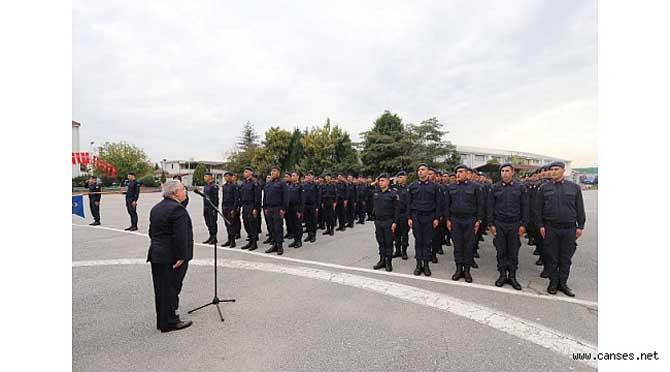 Vali Nayir Askerlerin Yemin Törenine Katıldı