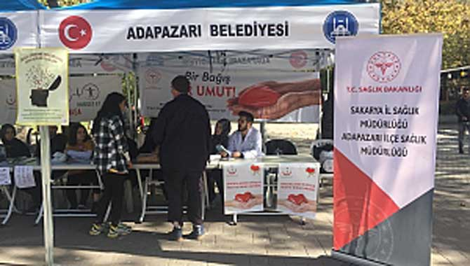 Adapazarı İSM vatandaşları Organ Bağışına davet etti