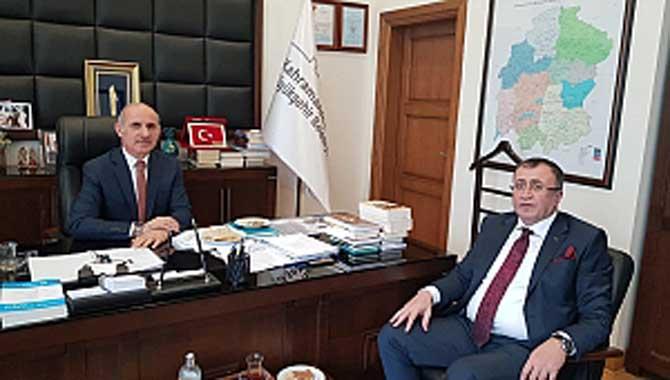 Balcı'dan Maraş'ta çifte ziyaret