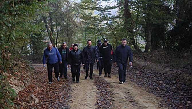 Başkan Özen, Doğa Yürüyüşlerinin Startını Verdi
