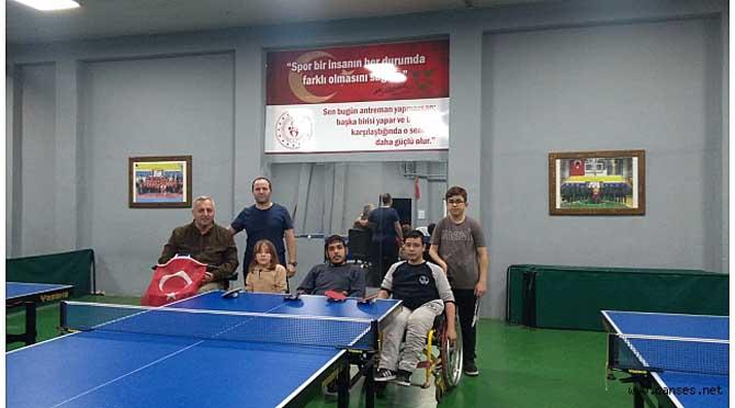 Bedensel Engelli Masa Tenisi Takımı Turnuvaya Katılıyor