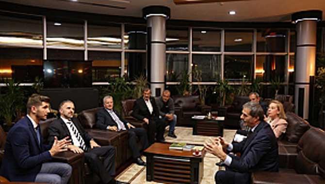 Büyükelçi Başkan Alemdar'ı Ziyaret Etti