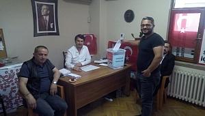 CHP DELEGE SEÇİMLERİ DEVAM EDİYOR